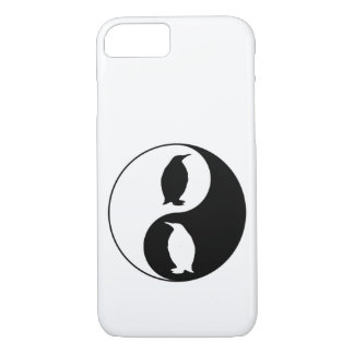 Yin Yang Penguin iPhone 8/7 Case