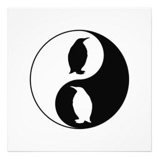 Yin Yang Penguin Photo Print