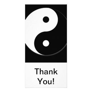 Yin Yang Personalized Photo Card