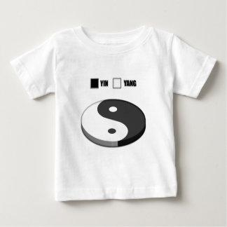 Yin Yang Pie Chart Baby T-Shirt