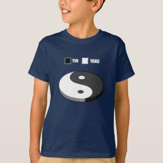 Yin Yang Pie Chart T-Shirt