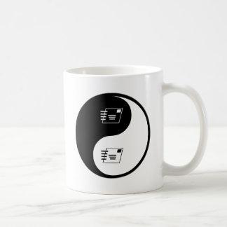 Yin Yang Postal Service Mugs