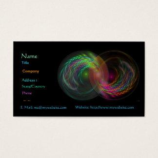 Yin Yang Profile Card
