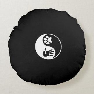 Yin/Yang Pup Pillow