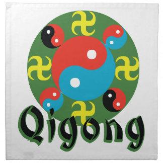 Yin Yang Qigong Napkin