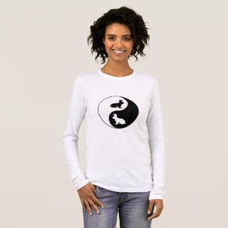Yin Yang Rabbits Long Sleeve T-Shirt