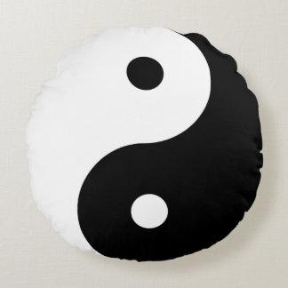 Yin-Yang Round Cushion