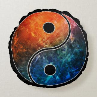 Yin Yang Round Cushion