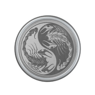 Yin Yang Scorpions with Stainless Steel Effect Bluetooth Speaker