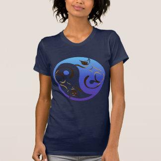 Yin Yang Siamese Cats T-Shirt