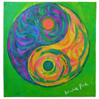 Yin Yang Spring Napkin