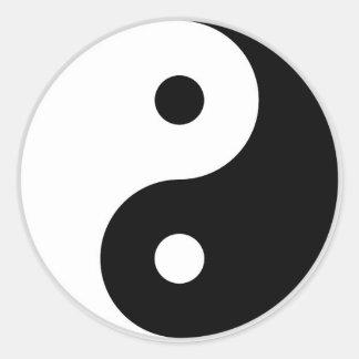 Yin-Yang sticker