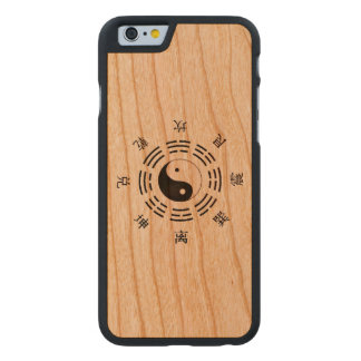 Yin Yang Style Carved Cherry iPhone 6 Case