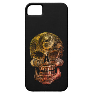 Yin Yang Sugar Skull iPhone 5 Case