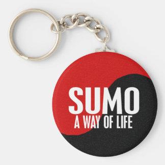 Yin Yang Sumo 1 Key Ring