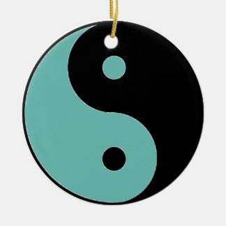 YIN YANG Symbol Ceramic Ornament