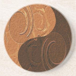 Yin Yang Symbol Coaster