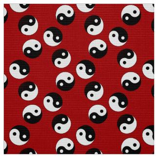 Yin Yang Symbol Fabric