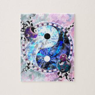 Yin Yang Symbol Jigsaw Puzzle
