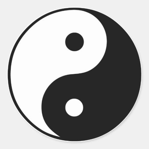 Yin Yang Symbol: Stickers