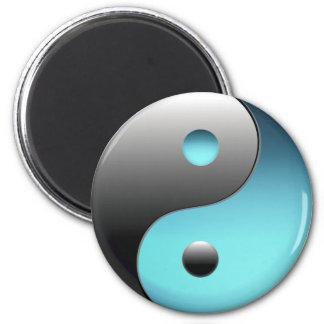 Yin Yang Symbol - Ying Yang Sign 6 Cm Round Magnet