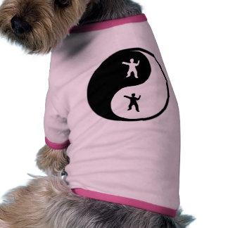 Yin Yang Tai Chi Doggie Tshirt