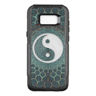 Yin Yang Teal OtterBox Commuter Samsung Galaxy S8+ Case