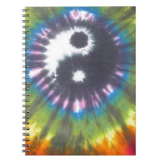 Yin Yang Tie Dye Notebook
