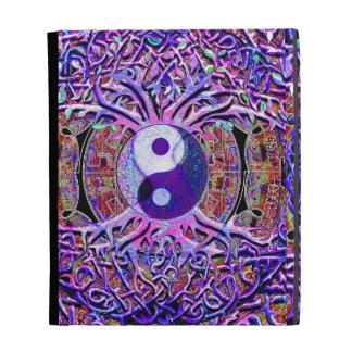 Yin Yang Tree of Life Mandala iPad Cases