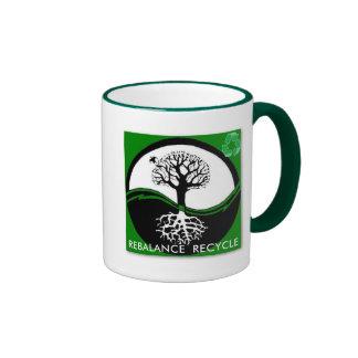 Yin Yang Tree Rebalance Recycle - Customized Mug