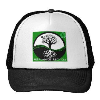 Yin Yang Tree Rebalance Recycle Trucker Hat