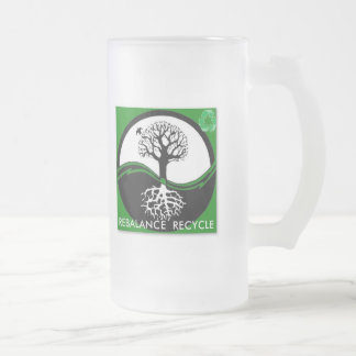 Yin Yang Tree Rebalance Recycle Coffee Mug