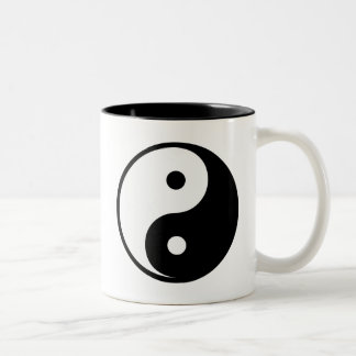 Yin Yang Two-Tone Coffee Mug