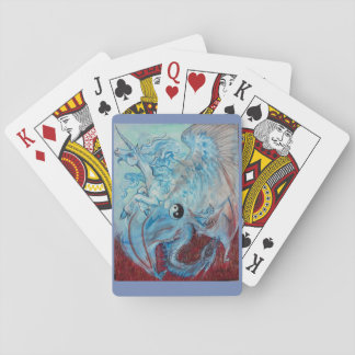 Yin Yang Unicorn and Dragon Poker Deck