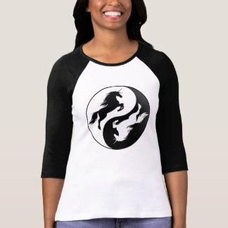 Yin Yang Unicorn Shirt