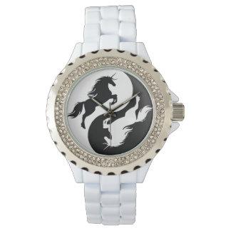 Yin Yang Unicorn Watch