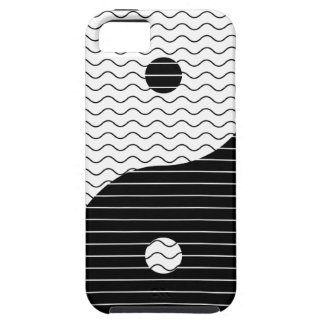 Yin Yang Waves iPhone 5 Case