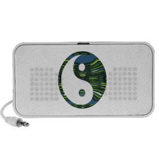 YIN YANG YINyang balance chinese symbol NVN248 PC Speakers