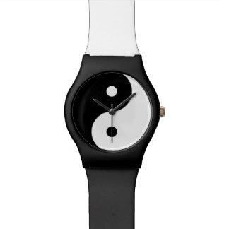 yin-yang  yoga symbol watch