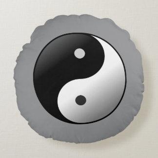 Yin Yangr Round Pillow