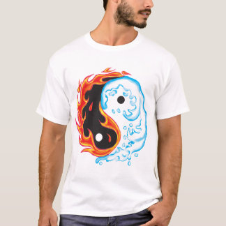 Ying Yang Fire & Ice T-Shirt
