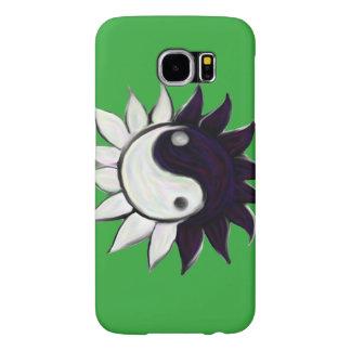 Ying-Yang Flower case for Samsung