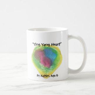 """Ying Yang Heart"" , By Kaitlin, ... Coffee Mug"