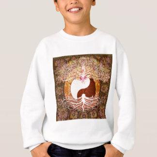 Ying Yang Heart Tree of Life Sweatshirt
