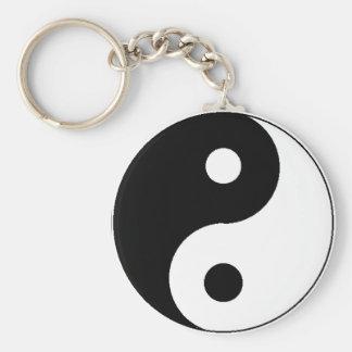 Ying Yang Keychain