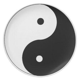 Ying Yang Plate