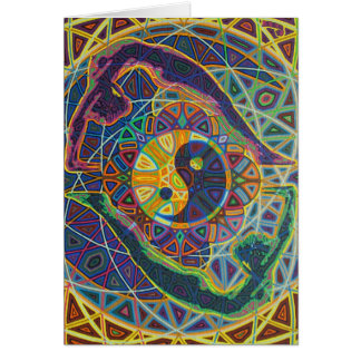 yinyang 2010 as greeting card