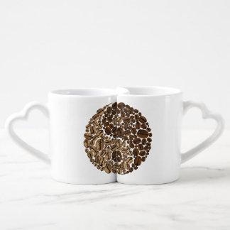 YinYang Coffee Beans Coffee Mug Set