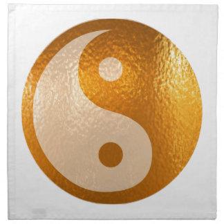 YinYANG Gold - Yin Yang Balance Napkin