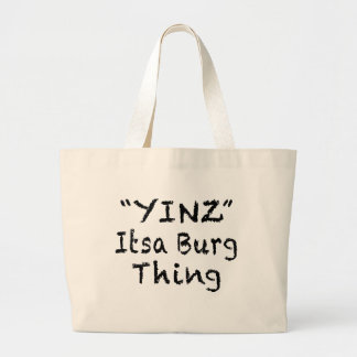 YINZ PITTSBURGH TOTE BAG